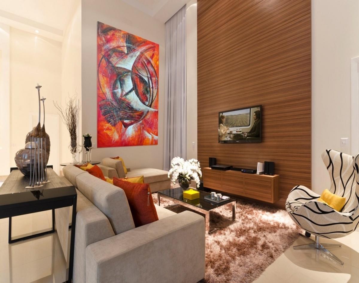 Desain Ruang Tamu Tipe 36 Sempit Minimalis Dengan Tampilan Modern Dan  Artistik