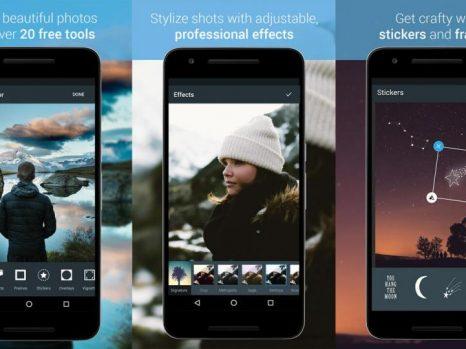 7. Aplikasi edit foto