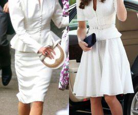 model dress selutut cantik lengan panjang 6